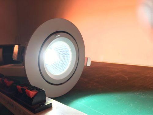 Profresh ajustable luz de techo 30Watts CRI> 90 para iluminación de alimentos