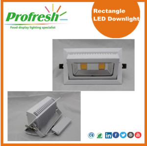 Profresh rectangle ceiling lights 50Watts CRI>90 for food lighting