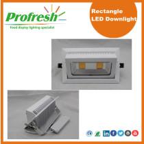 Profresh rectangle ceiling lights 50Watts CRI>90 for food lighting