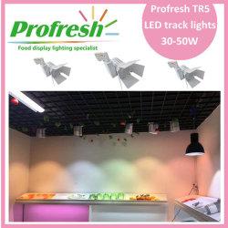 30W COB LED track light Ra>90 for meat ,butchers shop applications or supermarket meat shops