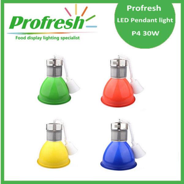 Luz pendiente moderna de la luz pendiente de 30W LED para la iluminación del supermercado con colores de iluminación modificados para requisitos particulares y CE y ROHS aprobados