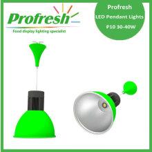 30w llevó la luz pendiente con color verde para verduras, frutas ...