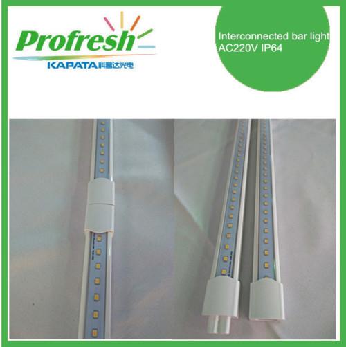 Luces de barra interconectadas AC220V 1.5M IP64 Freezer