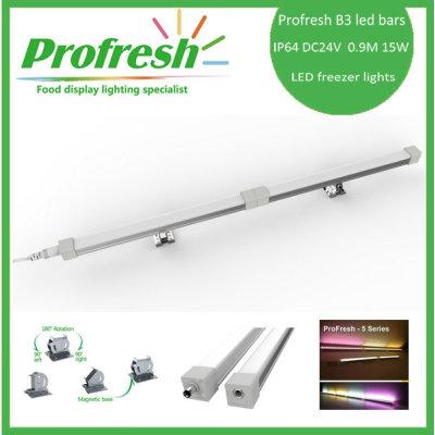 IP64 B3 led bar light/led freezer lights/supermarkets lights/showcase lights