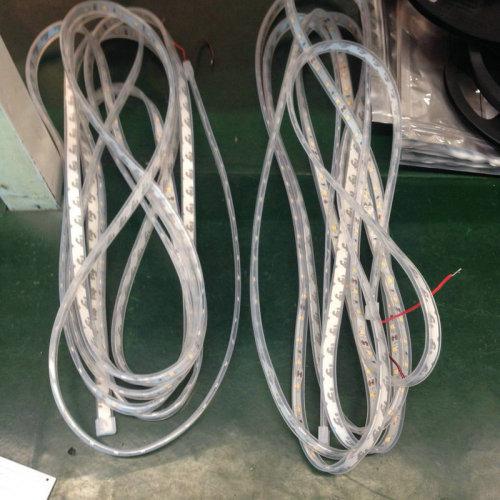 DC12V DC24V IP65 waterproof flexible strip light for food application