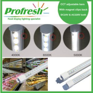 colour temperature adjusted led bar light with AC220V or DC24V