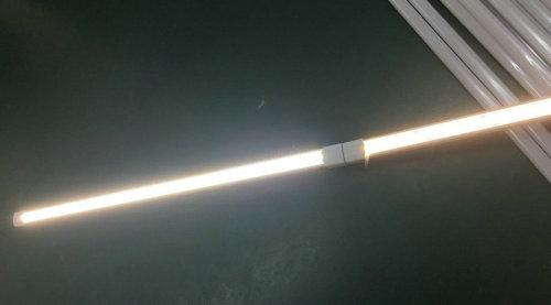 temperatura de color ajustada barra de luz led con AC220V o DC24V