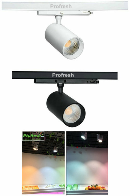 KAPATA new item:Profresh TR8 led track light RA>90 customized CCT for different food application