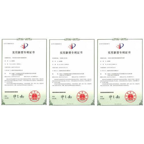 Certificado de patente del año 2017-2019.