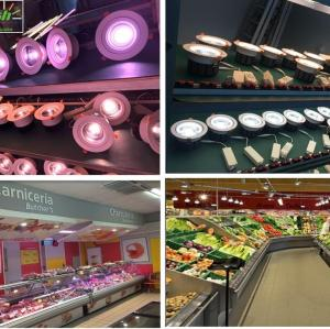 RA90 30-40W led downlight supermarket led lamp recessed downlight for food display application