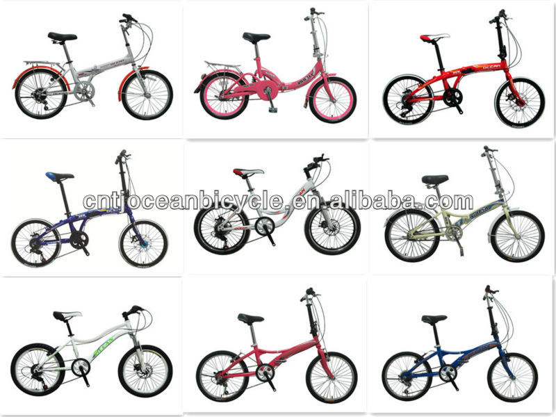 folding bike foldable bicycle folding bicycle