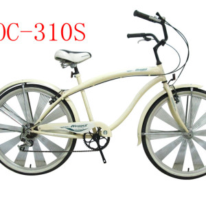 China Tianjin Mill Produce Beach Single Speed Chopper Cruiser Bicycle Frame