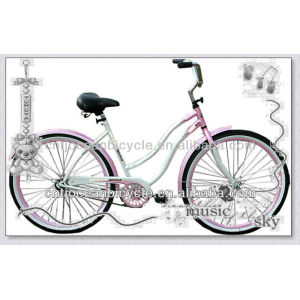 China supplier curiser bicycle beach bike cruiser bicycles