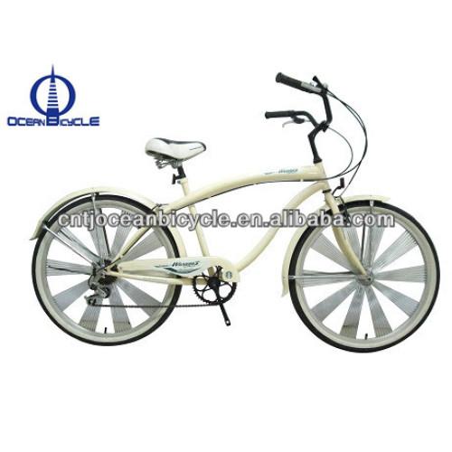 26 inch Steel Bech Cruiser bike Made in China OC-26031S