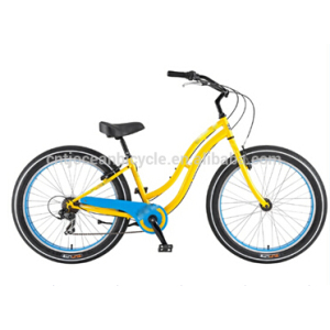 Beach Cruiser Beach Bicycle Steel for lady