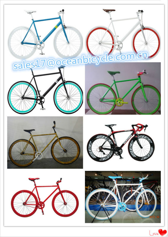 HOT !!!High quality fixed gear bike/fixed gear bicycle/fixed gear on sale.