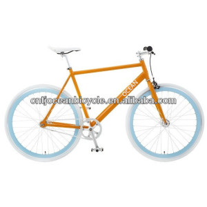 2014 Popular Single Speed Steel DIY Fixed Gear/Fixie OC-700C011S