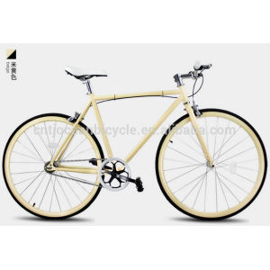 2014 Tianjin Newest Steel DIY Fixed Gear Bicycle OC-700C106S