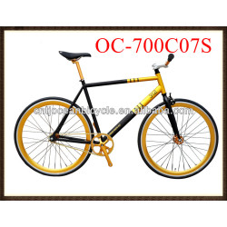 steel fixed gear bike with high quality