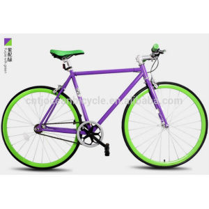 2015 Tianjin Newest Aluminium DIY Fixed Gear Bicycle OC-700C109S
