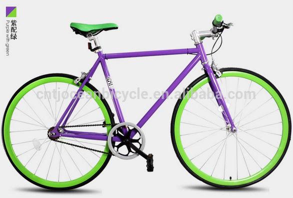 2014 Tianjin Newest Aluminium DIY Fixed Gear Bicycle OC-700C109S