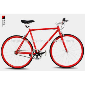 2014 Tianjin Newest Aluminium DIY Fixed Gear Bicycle OC-700C111S