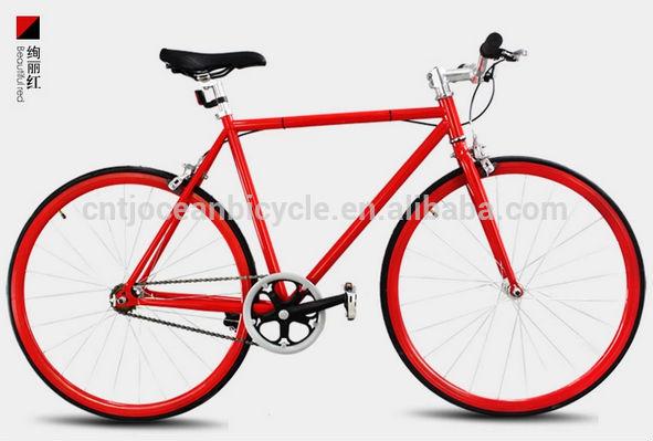 2014 Tianjin Newest Aluminium DIY Fixed Gear Bicycle OC-700C111S
