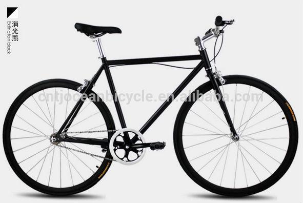 2014 Tianjin Newest Aluminium DIY Fixed Gear Bicycle OC-700C108S