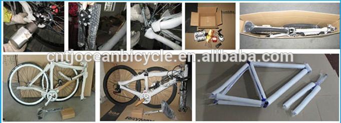 2015 New Model Aluminum Frame Singe Speed Green Color Road Bike/Good Sales Road Bicycle