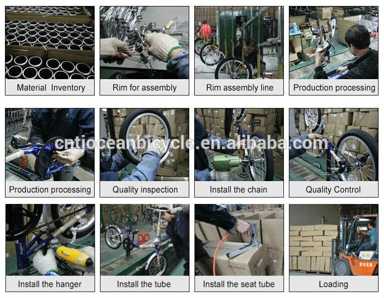 Color Single Speed DIY Fixed Gear Bike OC-700C014S