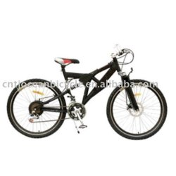 Tianjin Bike Factory Produce Full Suspension 18 Speed Mountain Bicycle
