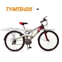 new design mountain bicycle with rear rack