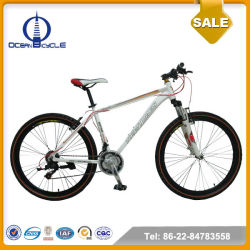 26'' Aluminum Frame Disc Brake 21 Speed mountain bike For Sale