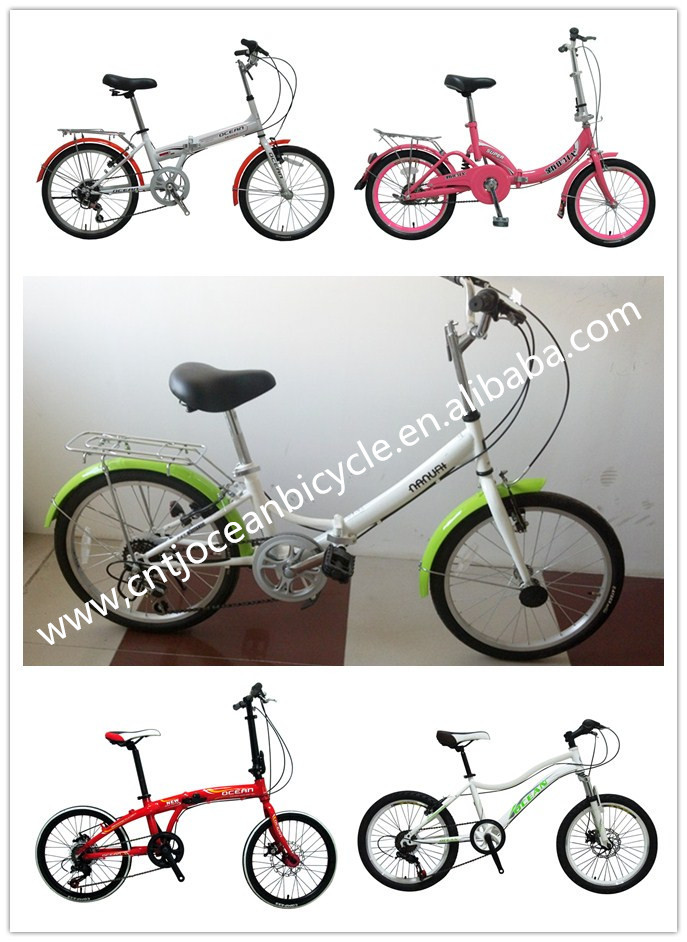 2014 FASHION!!! HIGH quality alluminium folding bike/folding bicycle on sale