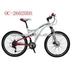 26 Steel Dual Suspension Mountain Bike OC-26020DS