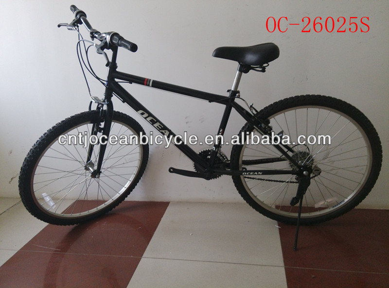 mountain bike with steel frame