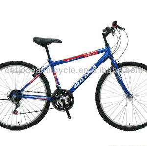 26 INCH  STEEL FRAME MOUNTAIN  BICYCLE