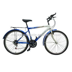 26'' mountain bike steel white