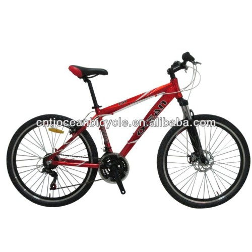 2014 hot 26 size mountain bike with suspension