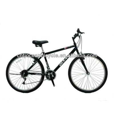 mountain bike with steel frame
