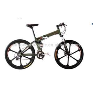 2014 Full Suspension new design mountain bike/folding bike/mtb/bicycle