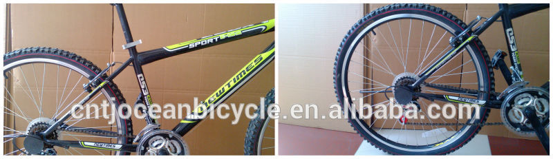 China Tianjin Factory Produce 26''Wheel 18 Gear Mountain Bicycle For Sale