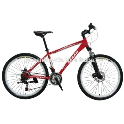 white mountain bike with high quality