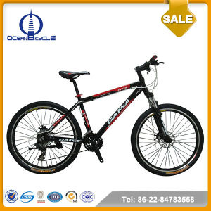 Aluminum Frame Disc Brake 24 Speed Mountain Bike/MTB For Sales