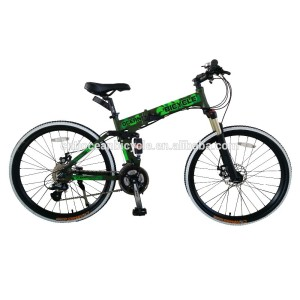 26 aluminium 24speed mountaion folding bike