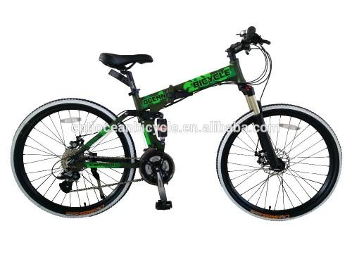26 aluminium 24speed mountaion folding bike