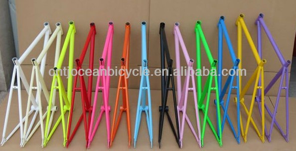 Tianjin High Quality Cheap Bright Green Aluminum Fixed Gear Bicycles