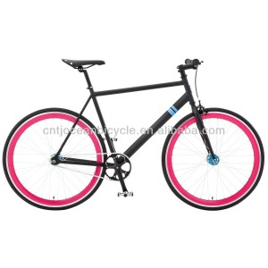 Tianjin EN Approval/Certificate Fix Gear Steel Bicycle Hot Sale