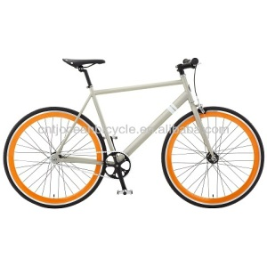 Tianjin EN Approval/Certificate Steel DIY Fix Gear Track Bicycle Hot Sale