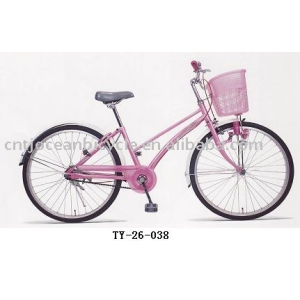 beautiful lady bicycle city bike 26 CE & ISO9001 report